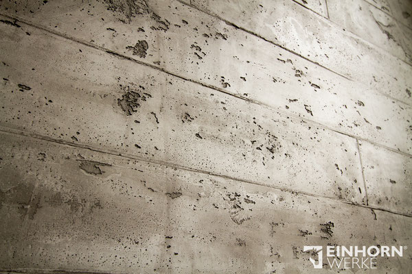 EINHORN WERKE TORINO BETON S6 No 0303 + shabby finish 01, betonoptik wandgestaltung