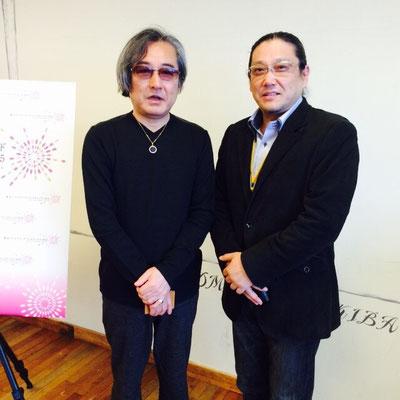 左:大河原邦男氏 右:吉田晃永
