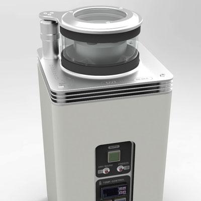電子顕微鏡試料 乾燥凍結機車 デザイン【プロダクトデザイン実績】