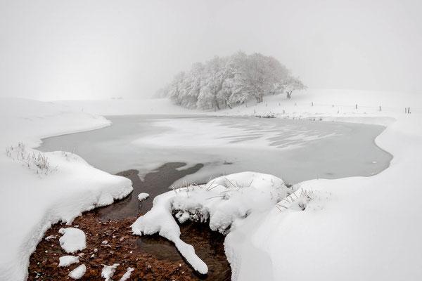 Un froid amer et glacial