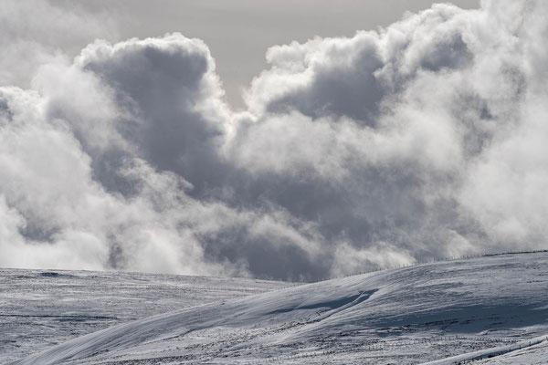 Les nuages groupés en escadrons