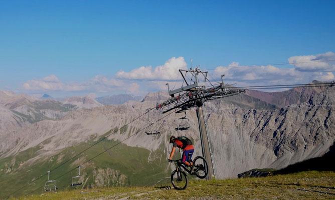 Radurlaub Graubünden