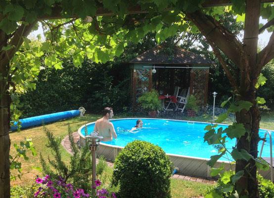 Wasserspaß im Pool