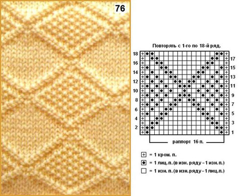 схемы вязания спицами творческая студия волгоград вязание