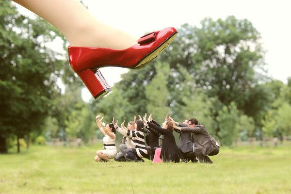 #lustige Hochzeitsfotos