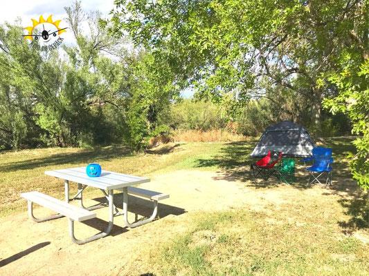 Camping im Rio Grande Village.