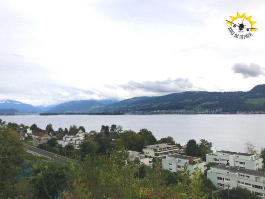Ein toller Aussichtspunkt oberhalb des Sees.