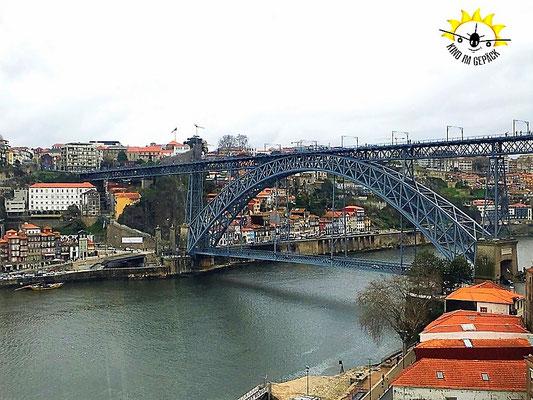 Die Ponte Dom Luis über den Douro.