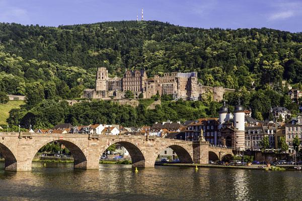 Heidelberg: Start der Radreise durch den Schwarzwald.