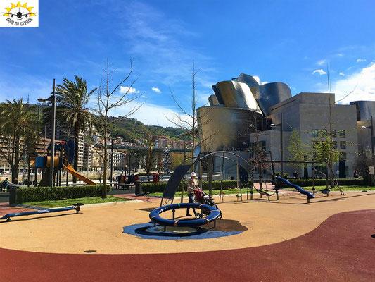 Spielplatz am Guggenheim Museum