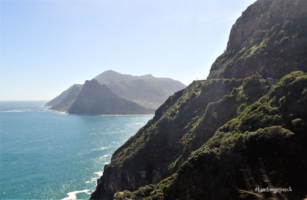 Chapman´s Peak Drive Blickrichtung: Hout Bay Bucht