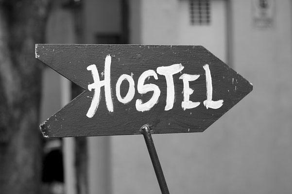 Ein Hostel als Familien buchen.