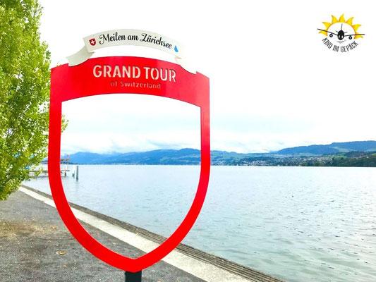 Grand Tour am Zürichersee auf der Radreise.