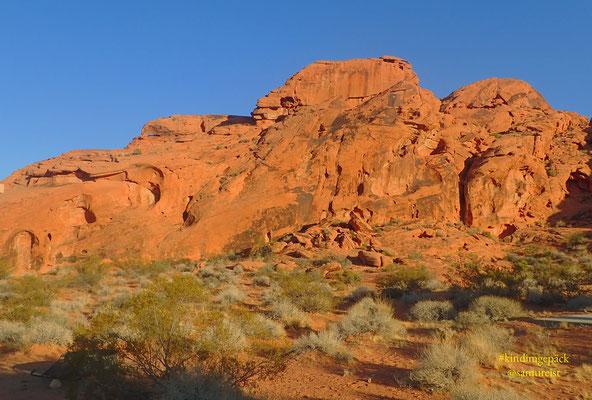 Ausblick auf dem Campgound Atlatl Rock