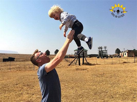 Familien-Spaß in Südafrika.