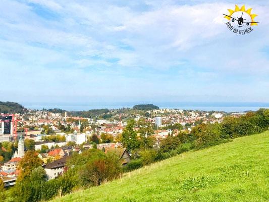 Ausblick am Naherholungsgebiet Drei Weieren.