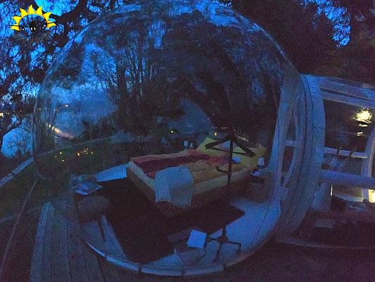 Die Bubble am Arenenberg am Abend.