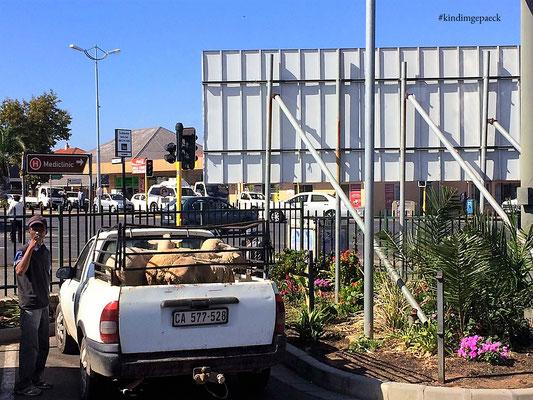 Schaftransport auf Südafrikanisch