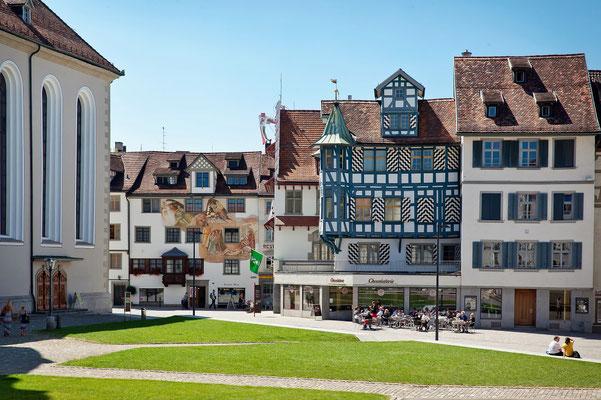 Das Zentrum von St. Gallen.