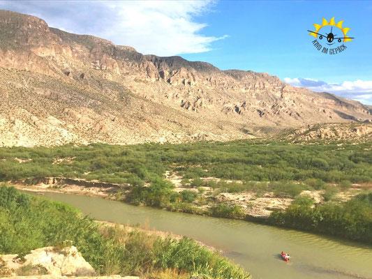 Der Rio Grande und seine Big Bend - die große Biegung.