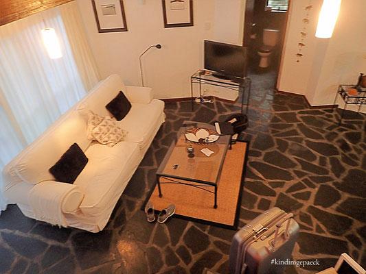 Gemütliches Sofa in der Africa Suite