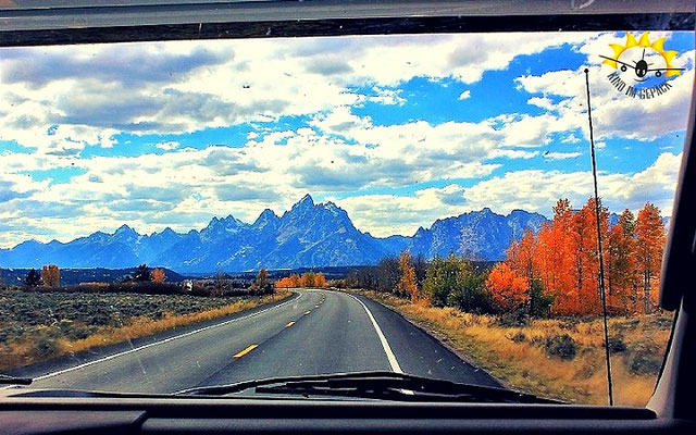 Unterwegs im Grand Teton Nationalpark