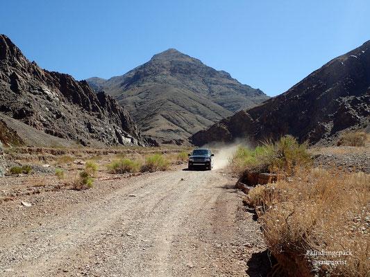 Auf der Titus Canyon Road
