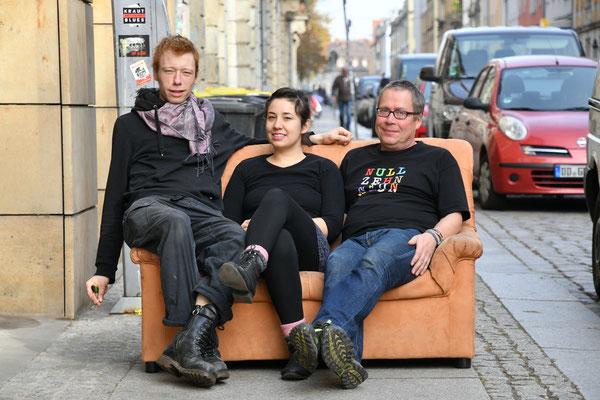 """Fr, 15. Februar, 21 Uhr: Andi Valandi tourt mit seiner kleinen Band und dem neuen Album """"Der Blues ist tot"""" im Gepäck durch die Gegend. Am Freitag treten die Krautbluespunker in der Kiste (Heidenauer Straße 10) auf. Eintritt: 10 €, Foto: Anja Schneider"""