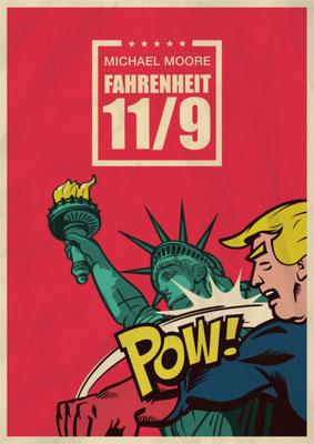 So, 17. Februar, 20 Uhr: Das Kino Kiste (Heidenauer Straße 10) zeigt Fahrenheit 11/9. In seiner neuesten Dokumentation geht Filmemacher Michael Moore der Frage nach, wie Donald Trump Präsident der USA werden konnte. Eintritt: 7 €