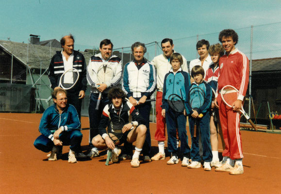 Freundschaftsspiel gegen TC Henndorf - Mai 1983