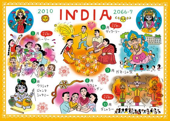 NHKBS1「アジア・クロスロード、カレンダーde旅アジア」バングラディッシュ編 2010
