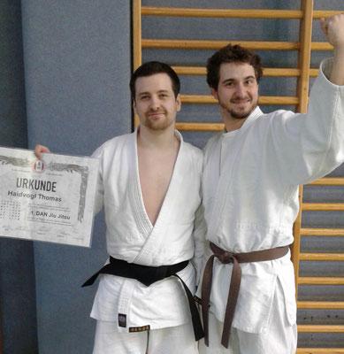 Wir gratulieren unserem Thomas zur bestandenen Dan Prüfung!
