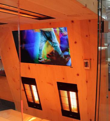 Infrarotkabine   FULL-HD 32 Zoll TV   Extras