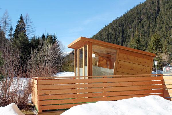 THERMOBOX | Außen komplett aus Lärchenholz