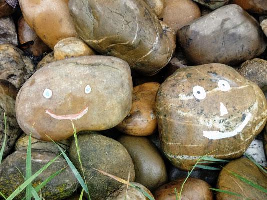lachende Steine für den OGV