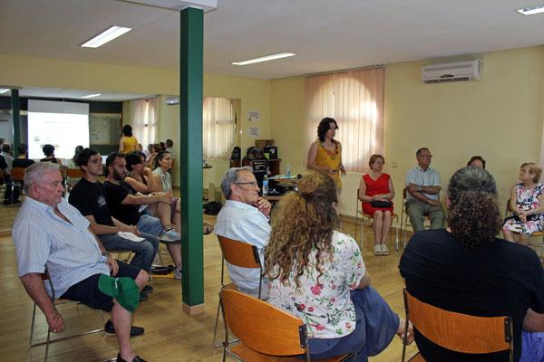 ESCUELA DE SALUD Y CUIDADOS EN DIABETES TIPO II. Impartió la formación: Luisa Ballesteros Ordoñez  (Asociación Diabéticos de Toledo – ADITO)
