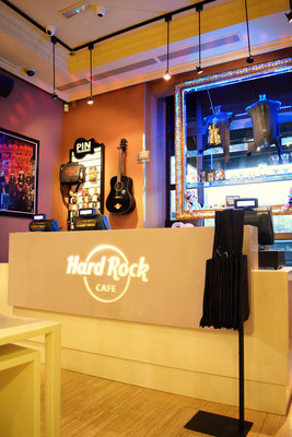 Reformas de restaurantes     RESTAURANTE HARD ROCK CAFE MADRID