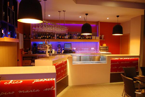 reformas de bares          Cafeterías EN KA JUANELE