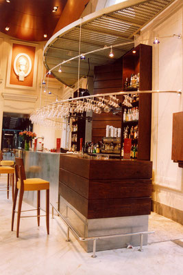 reformas de bares/ Bar de copas LA PÉRGOLA