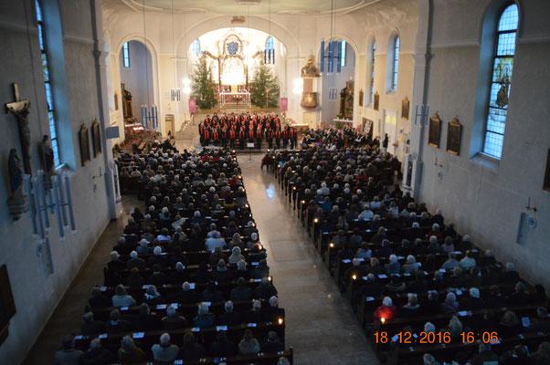 """18.12.2016  Konzert St. Wendelinus """"Advent ist ein Leuchten"""""""