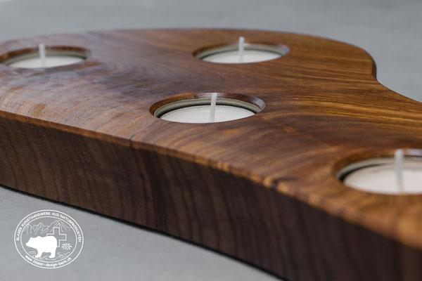 Rechaudkerzen Halter | für 4 Kerzen  und Teelichter