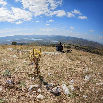 Вид на Байдарскую долину с Лысой горы
