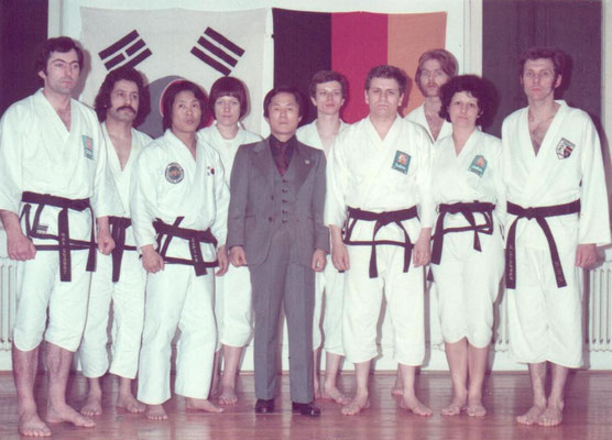 1975 - Gen. Choi Hong Hi besucht Bushido
