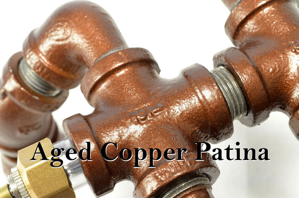 Aged Copper Patina