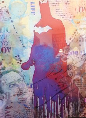DigitalArt auf Acrylglas gedruckt ohne Bohrung