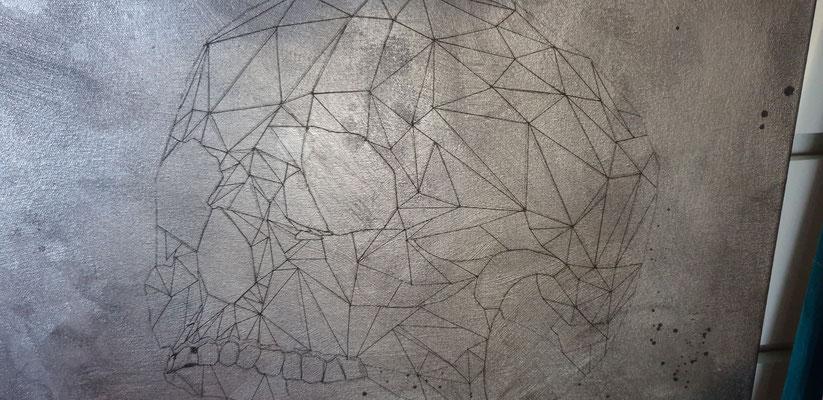 gefühlte 1'000 Dreiecke gezeichnet