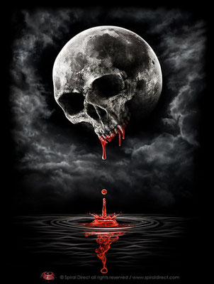 Illustration für spiral - Death Moon © spiral direct all rights reserved / www.spiraldirect.com