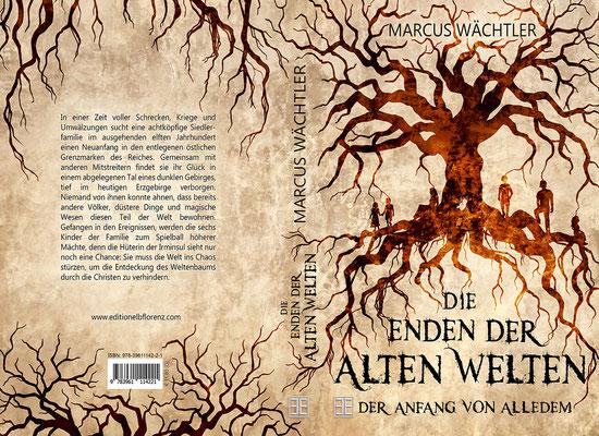 """Buchumschlagsgestaltung """"Die Enden der alten Welten"""" von Marcus Wächtler / Fantasybuchcover"""