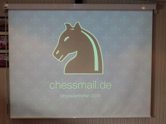 Chessmail-Treffen 2015: Der Beamer funktioniert!