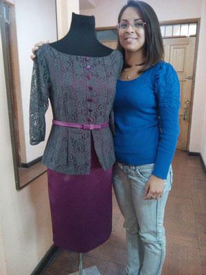 Curso de vestuario femenino avanzado
